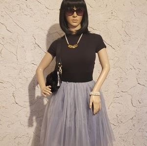 Skirts - Top, skirt, belt & necklace 4 Back 2 School!